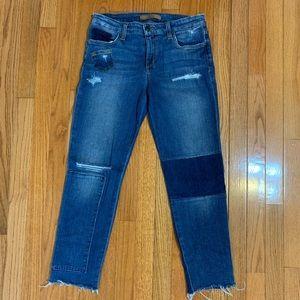 Joe's Jeans Ex-Lover Straight Boyfriend Crop Jeans